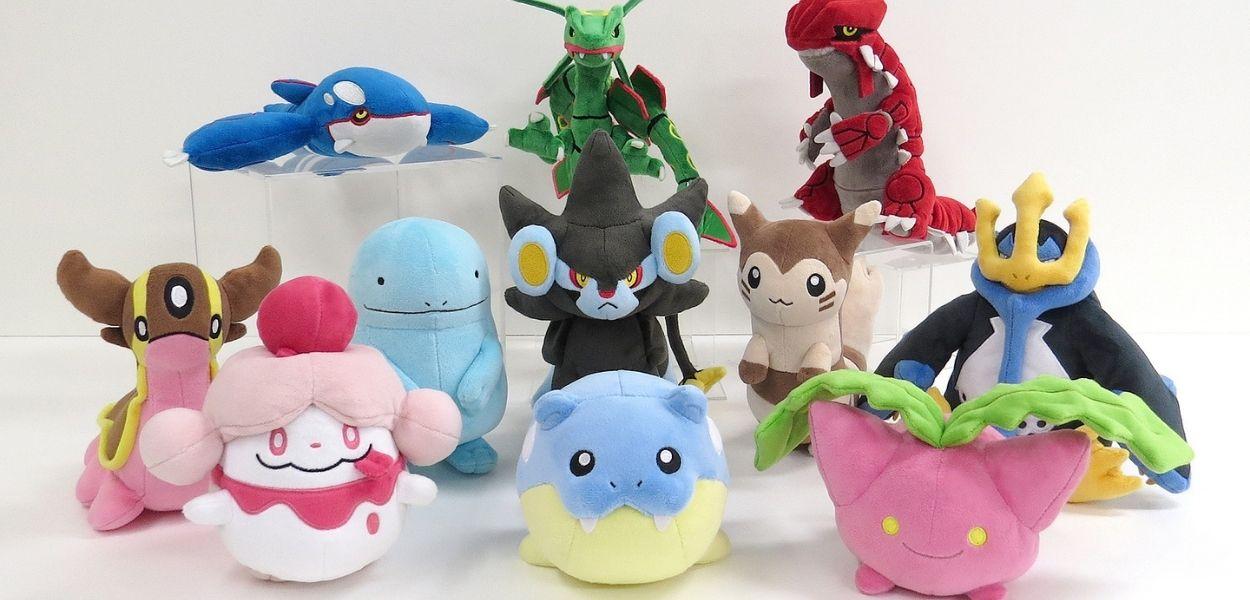 Rivelata la nuova collezione di peluche All Star Pokémon