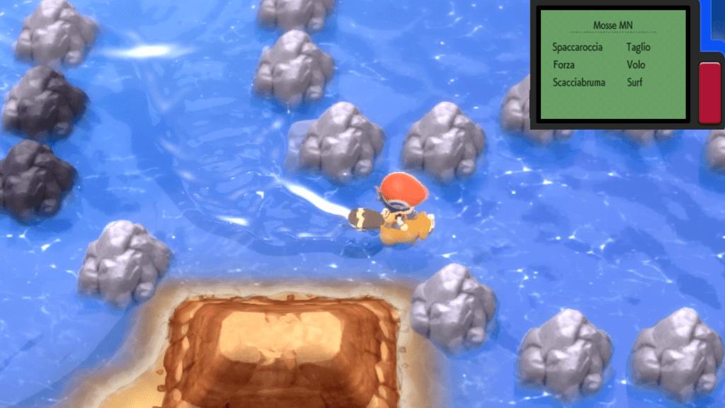 Con il PokéKron in Pokémon Diamante Lucente e Perla Splendente si potranno usare le MN.