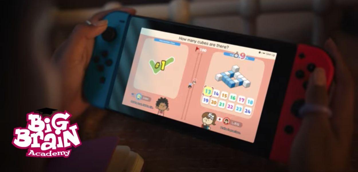 Big Brain Academy: Sfida tra menti arriverà a dicembre su Nintendo Switch