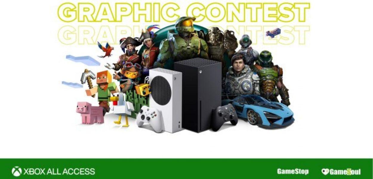 Partecipa al Graphic Contest di GameStop con Xbox All Access