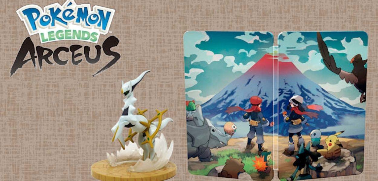Svelati i bonus per il pre-ordine di Leggende Pokémon: Arceus in Europa