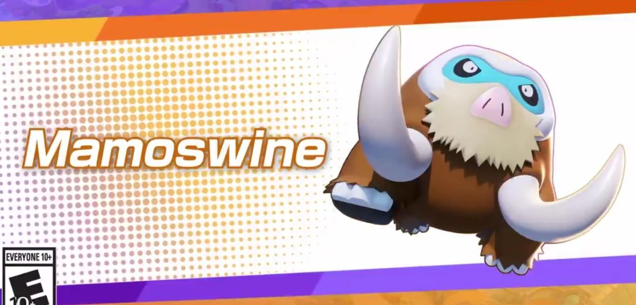 Annunciata la data di uscita di Mamoswine su Pokémon Unite