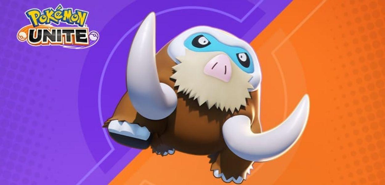 Mamoswine è disponibile su Pokémon Unite