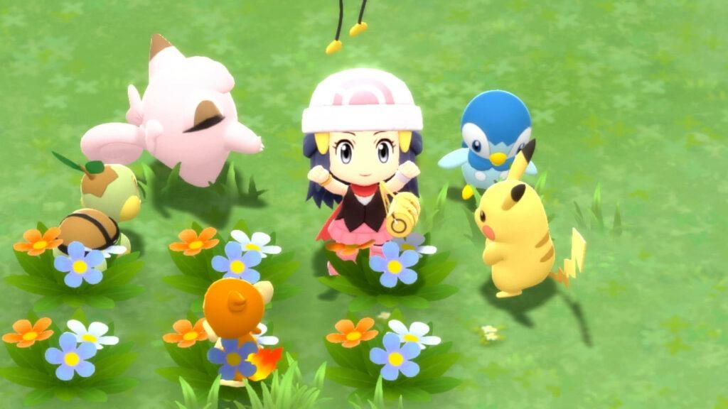 In Pokémon Diamante Lucente e Perla Splendente si potrà camminare nel Parco Concordia.