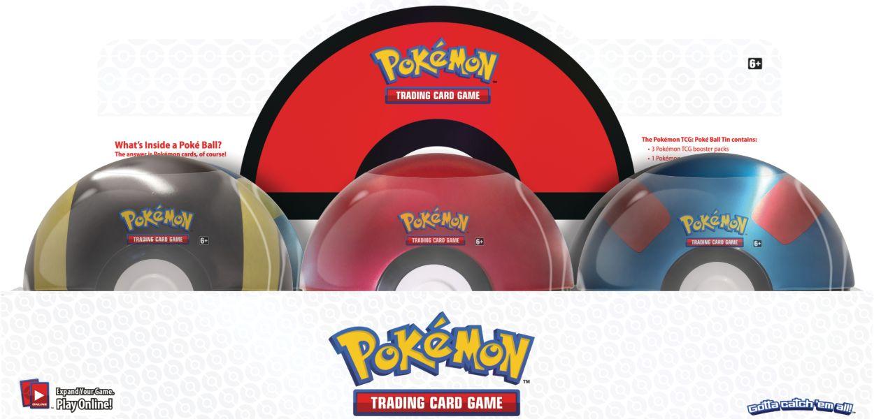 Nuove Poké Ball Tin in arrivo a dicembre