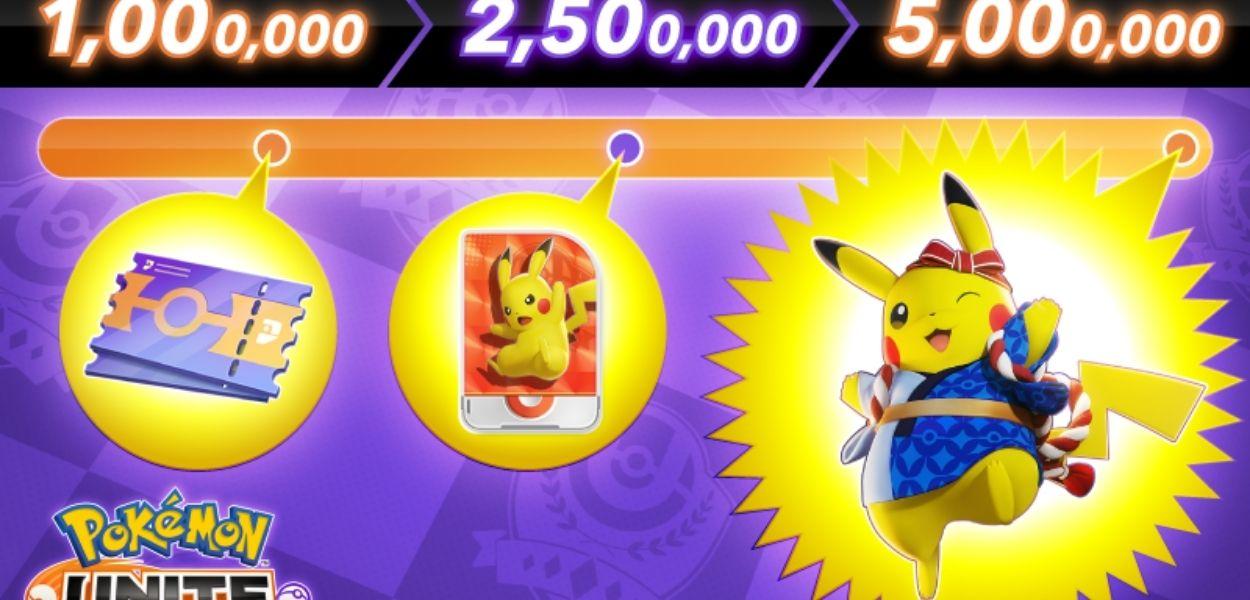 Preregistrazioni Pokémon Unite: sbloccato l'Holowear di Pikachu e nuove ricompense in arrivo