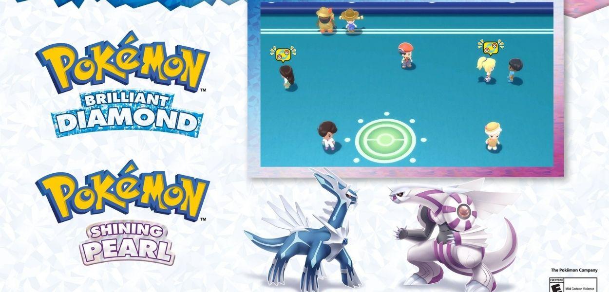 Svelati nuovi dettagli sulla Sala Contatto di Pokémon Diamante Lucente e Perla Splendente