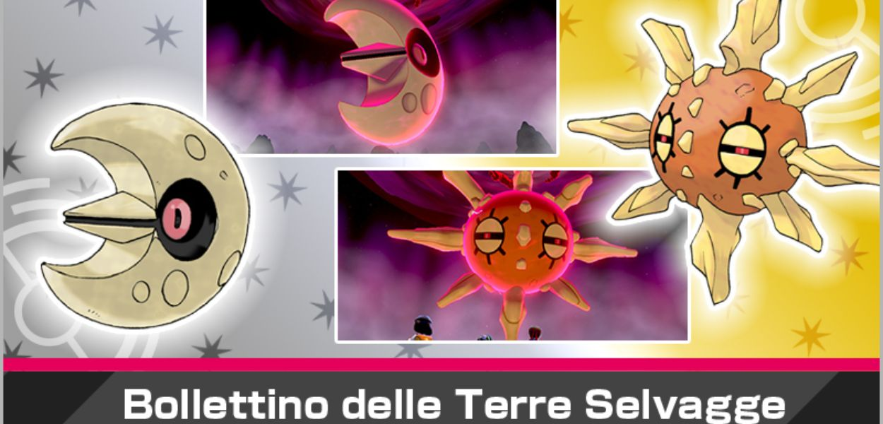 Lunatone e Solrock arrivano nei raid di Pokémon Spada e Scudo