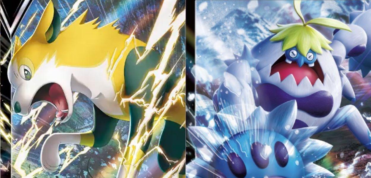 Boltund V e Crabominable V dall'espansione Fusion Arts