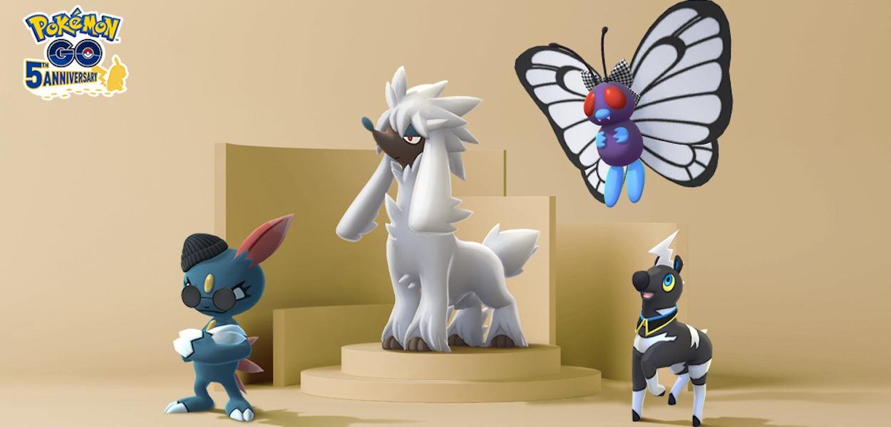 Pokémon GO: Furfrou e nuovi Pokémon in costume per la settimana della moda