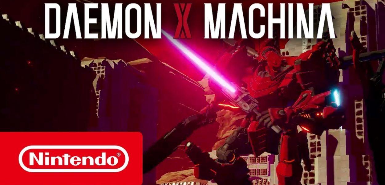 Daemon X Machina in prova gratuita per gli iscritti a Nintendo Switch Online
