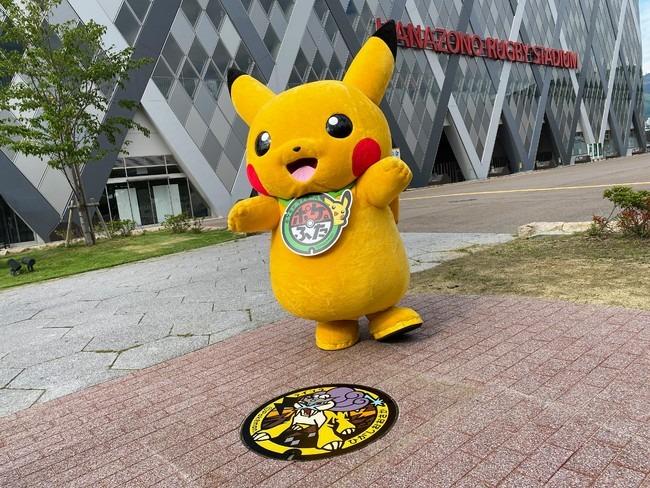 pikachu tombino raikou osaka