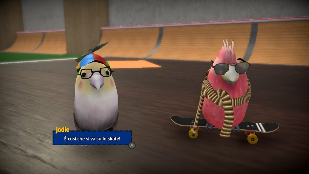 Dialogo tra pappagallini buffi