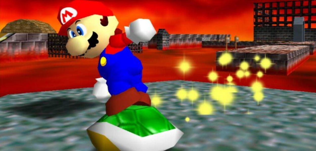 In Super Mario 64 un glitch potrebbe essere stato causato da un raggio cosmico
