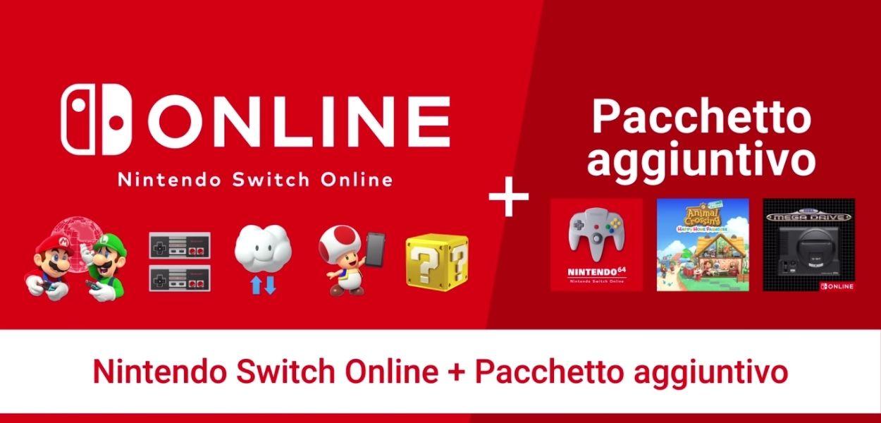 Svelato il prezzo del Pacchetto Aggiuntivo di Nintendo Switch Online