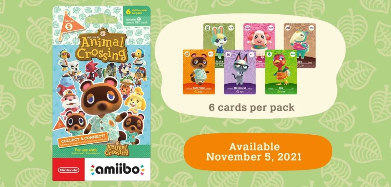 Rivelate 48 nuove carte amiibo di Animal Crossing: New Horizons