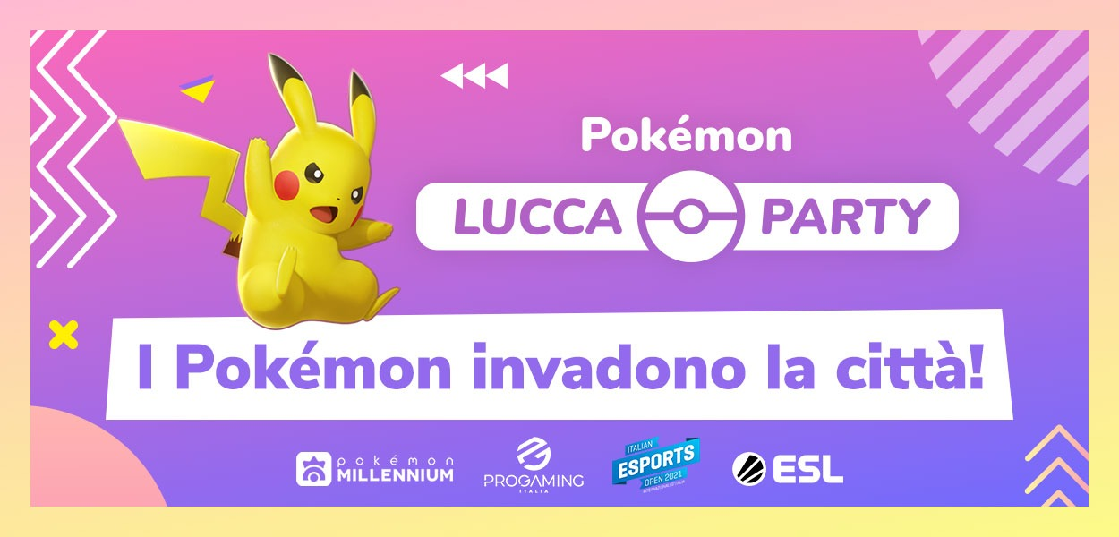 I Pokémon invadono il Lucca Comics & Games 2021